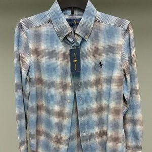 🆕 Ralph Lauren Vintage Twill Flannel Shirt